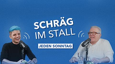 Thumbnail Schraeg im Stall Podcast
