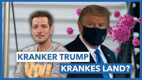 Folge 38 - Kranker Trump, krankes Land? Über Brandstifter, Proud Boys & Bad Cops